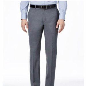 Lauren Ralph Lauren men's grey slim fit dress pant